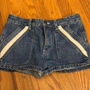 Free People | Sweet Surrender Jean Shorts. Size 25